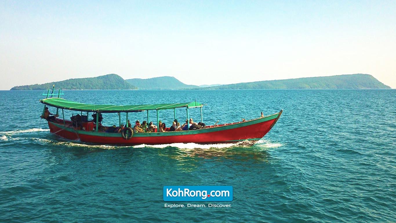 Boat Taxi Koh Rong